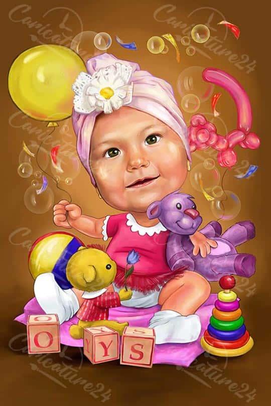 Карикатура за бебе