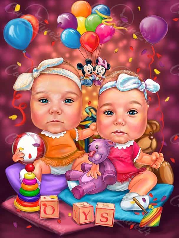 Карикатура за бебета