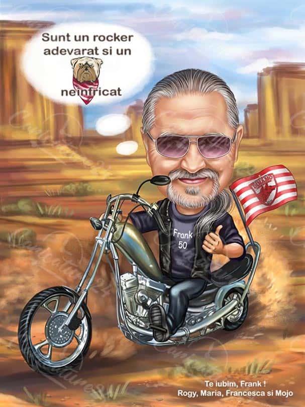 Карикатура за пенсиониране