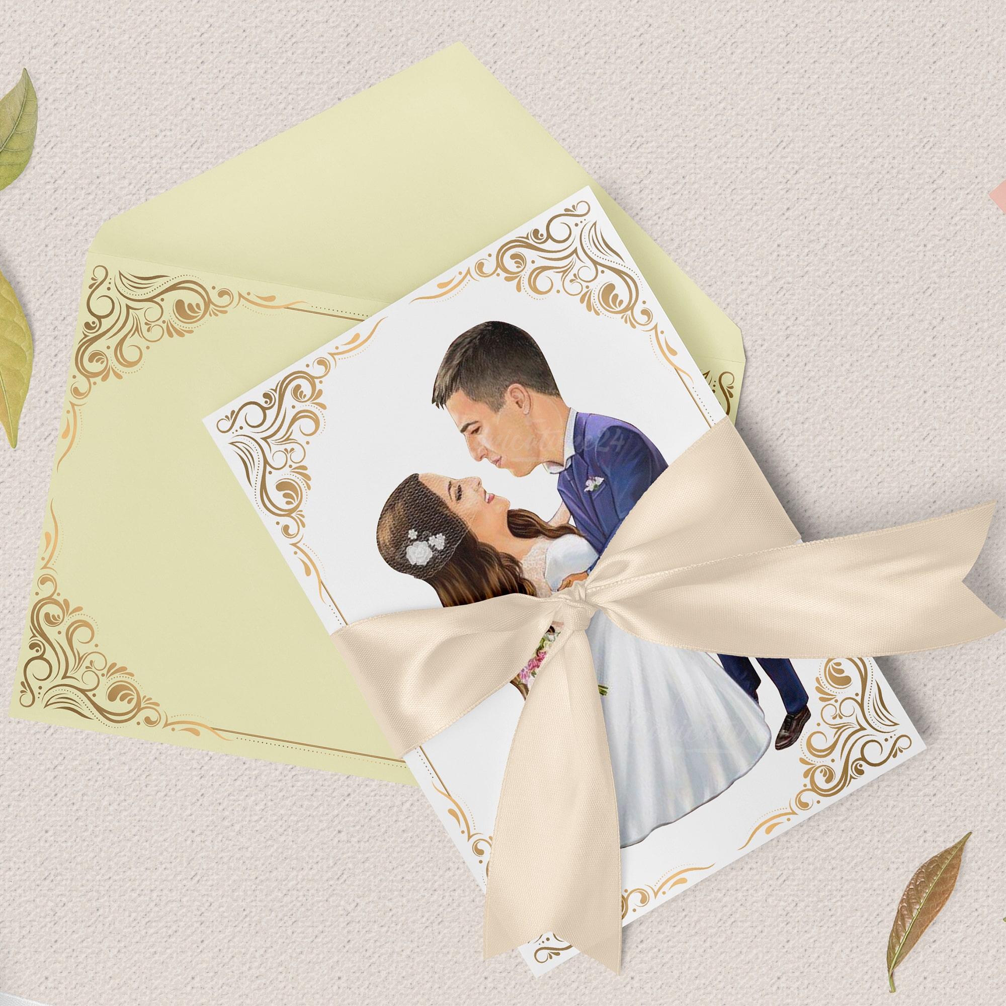 Нестандартни сватбени покани
