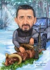 Карикатура подходящ подарък за ловец