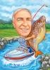 Карикатура с риба