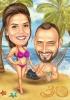 Карикатура за 30ти юбилей на плажа