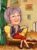 Карикатура за баба