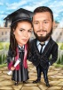 Карикатура за дипломиране