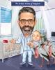 Карикатура за гинеколог с бебета