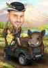 Карикатура за ловец с глиган