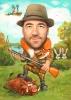 Карикатура за ловец