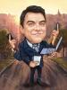 Карикатура за мултифункционален мъж