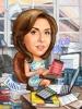 Карикатура за счетоводителка