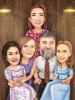 Карикатура за семейство