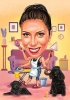 Карикатура за жена домакиня
