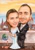 Сватбена карикатура